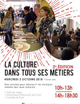 Caen, 3 octobre 2018, Forum La culture dans tous ses métiers