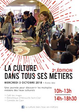 Visuel du forum La culture dans tous ses métiers 2018