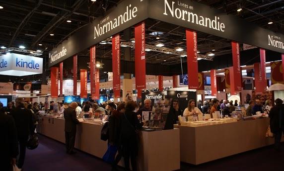 [Livres en Normandie], du16 au 19 mars 2018,23 éditeurs normandsprésents au salon Livre Paris