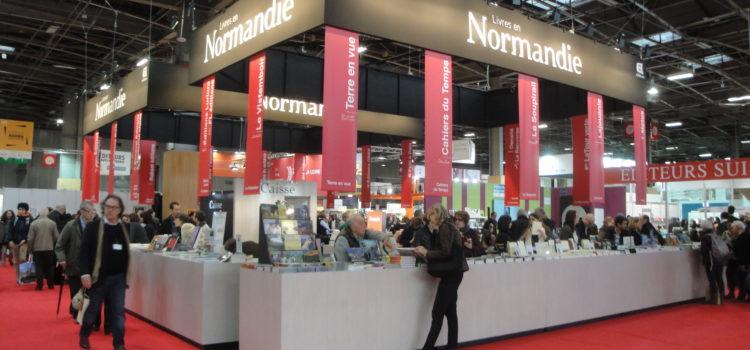 [Livres en Normandie] du 15 au 18 mars 2019, 25 éditeurs normands présents au salon Livre Paris