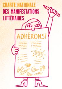 visuel charte nationale des manifestations litteraires