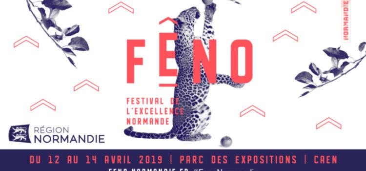 Caen, 12 au 14 avril 2019, présence au Fêno, Festival de l'Excellence Normande