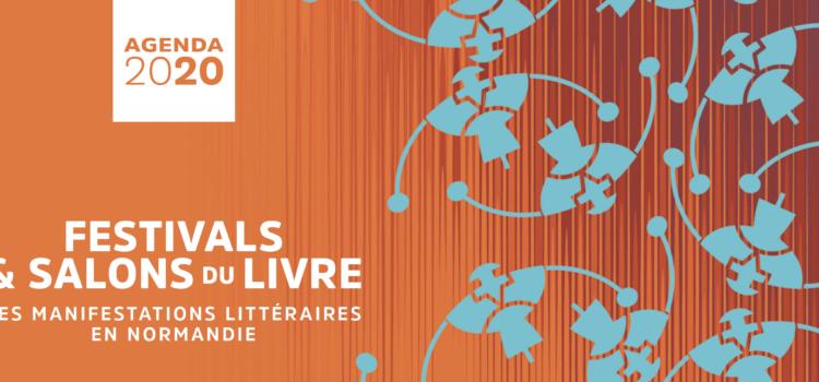 Diffusion de l'agenda annuel des manifestations littéraires en Normandie