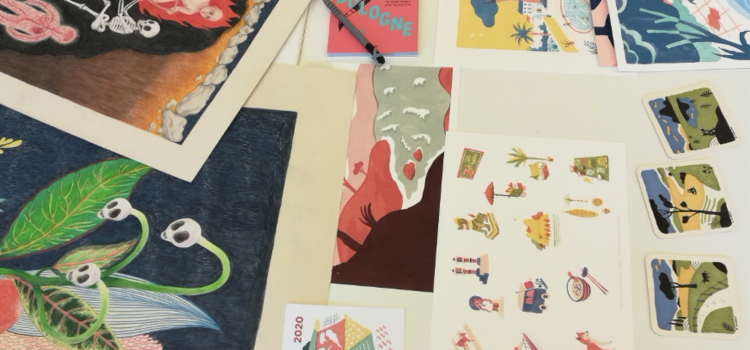 Retour sur la formation des auteurs illustrateurs jeunesse dans le cadre du dispositif «Un voyage à Bologne»
